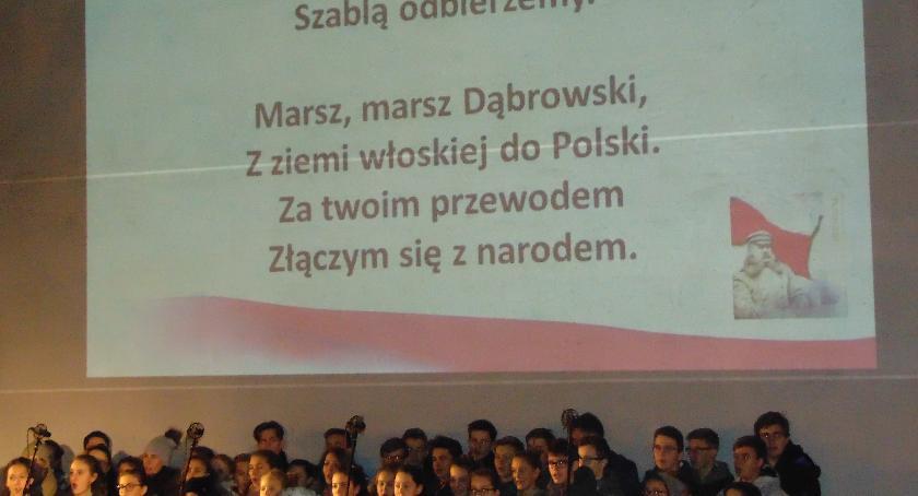 SPOŁECZNE, Podwieczorek patriotyczny pomniku Wacława Milke - zdjęcie, fotografia