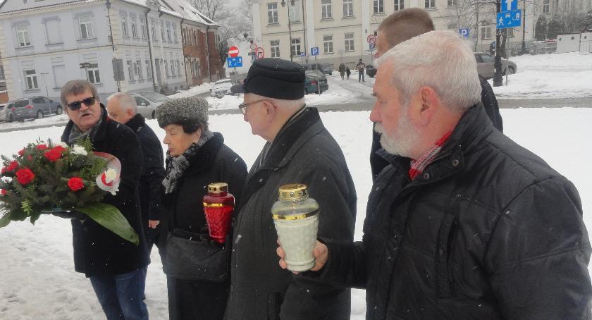 SPOŁECZNE, rocznica zakończenia działań wojennych Płocku - zdjęcie, fotografia