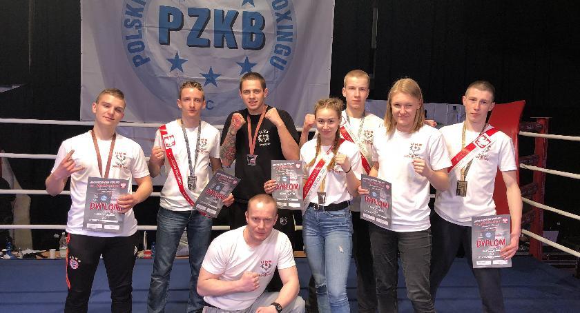 sport, Mistrzostwa Polski Seniorów Juniorów Młodszych Contact Sanda Kaliszu - zdjęcie, fotografia