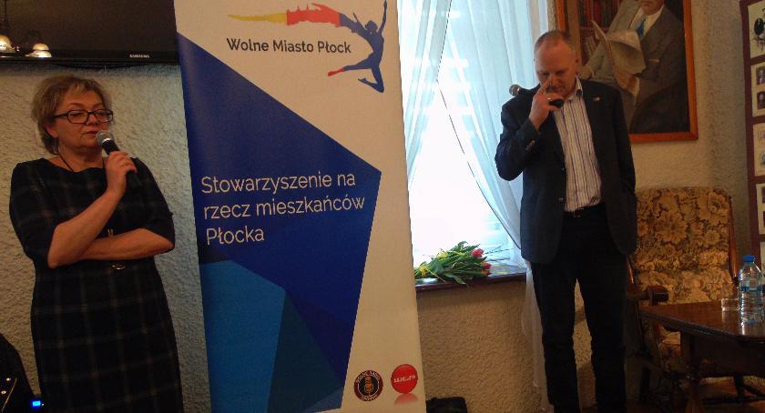 SPOŁECZNE, Jarosław Kurski spotkaniu płocczanami - zdjęcie, fotografia