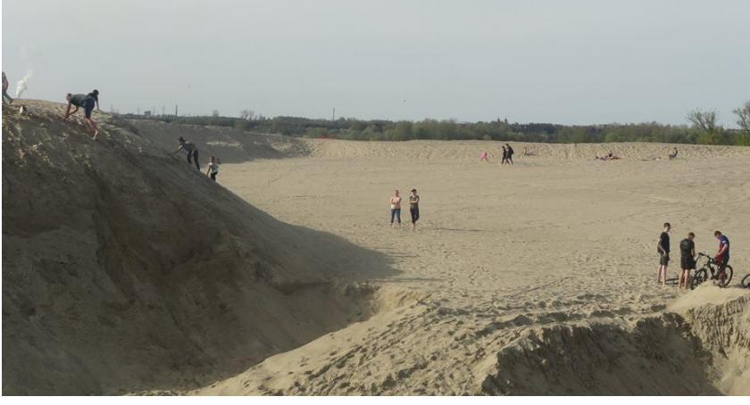 SPOŁECZNE, Największa piaskownica Mazowszu Borowiczkach - zdjęcie, fotografia