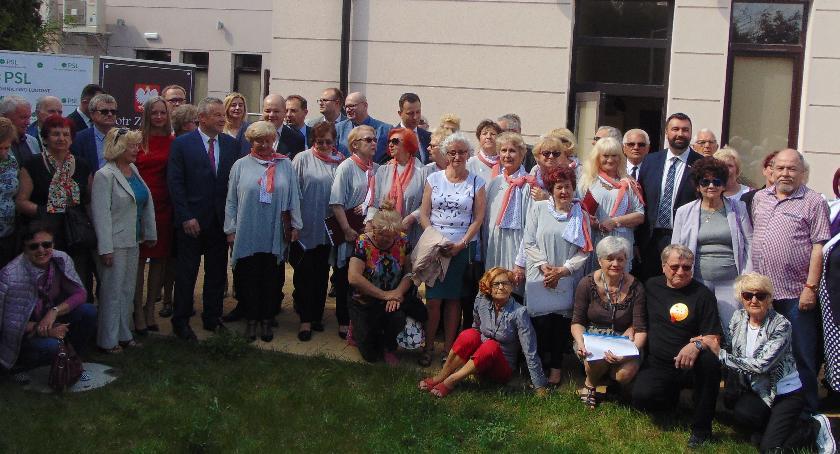 SPOŁECZNE, Emerytura podatku Głos płockich seniorów usłyszano Warszawie - zdjęcie, fotografia