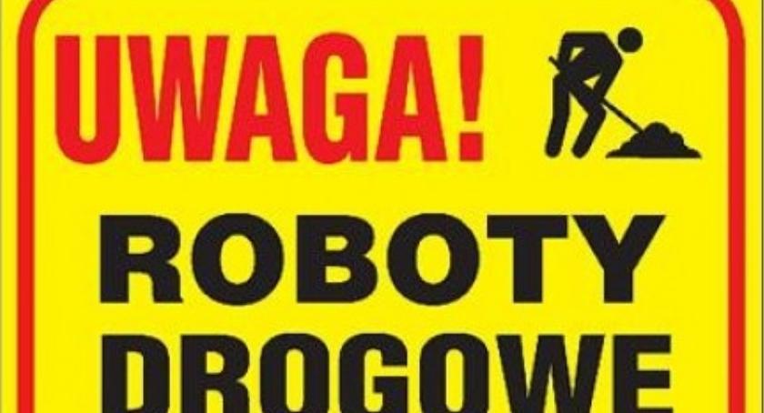WIADOMOŚCI, Roboty drogowe lipca płockim powiecie - zdjęcie, fotografia