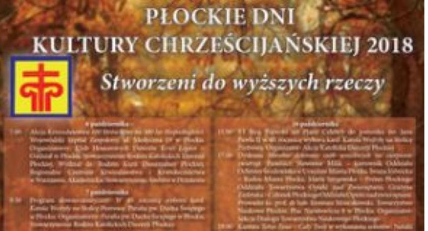 SPOTKANIA, Program Płockich Kultury Chrześcijańskiej - zdjęcie, fotografia