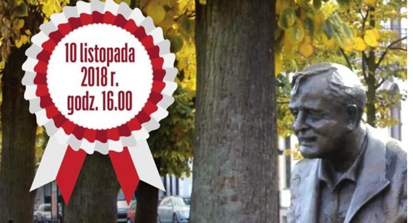 WIADOMOŚCI, Podwieczorek patriotyczny pomniku Wacława Milke - zdjęcie, fotografia