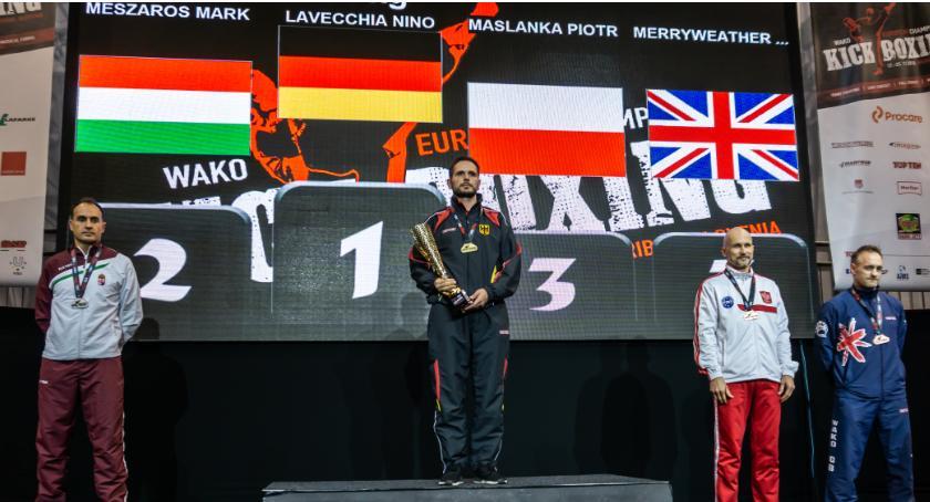 sport, Piotr Maślanka zrealizował marzenie Mistrzostwa Europy Kickboxingu - zdjęcie, fotografia