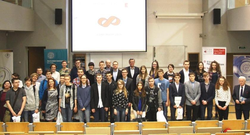 konkursy, Matematycy nagrodzeni - zdjęcie, fotografia