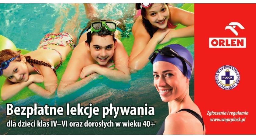 DOROŚLI, Pływanie Orlenem darmo - zdjęcie, fotografia