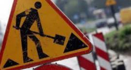 Uwaga - roboty drogowe