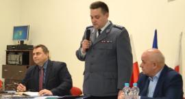 Policja - spotkanie z mieszkańcami Drobina