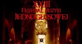 XXIII Festiwal Muzyki Jednogłosowej