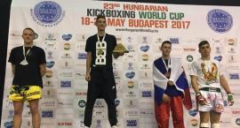Mateusz Dymek srebrnym medalistą w kickboxingu - Budapeszt