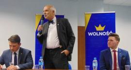 Młodzi dla Wolności z Płocka z Januszem Korwinem Mikke