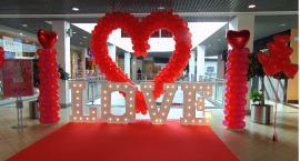 Walentynki w atrium
