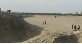 Największa piaskownica na Mazowszu jest w Borowiczkach