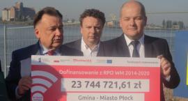 Wsparcie dla Plocka od Marszałka