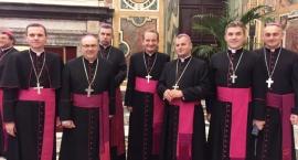 Biskup z Płocka u papieża Franciszka