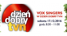 Chórzyści z Płocka w TVN