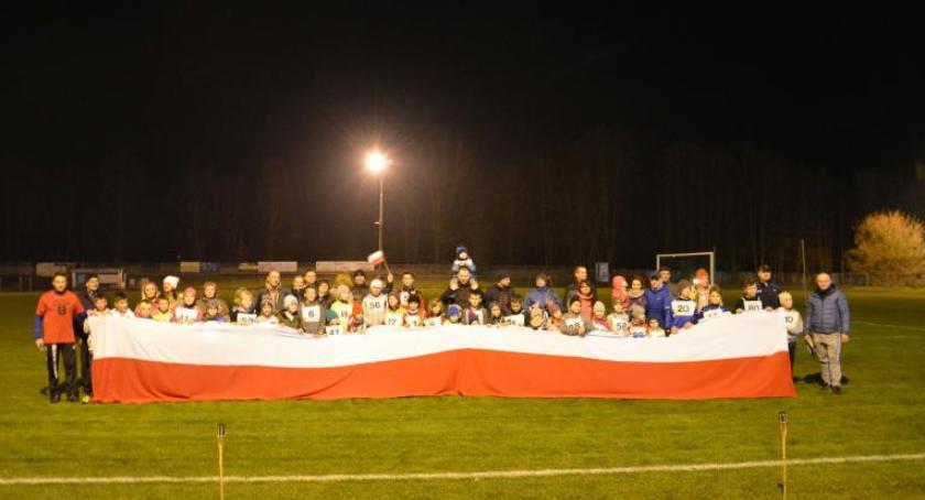 Sport, Nocne Niepodległościowe Bieganie Skaryszewie [FOTO] - zdjęcie, fotografia