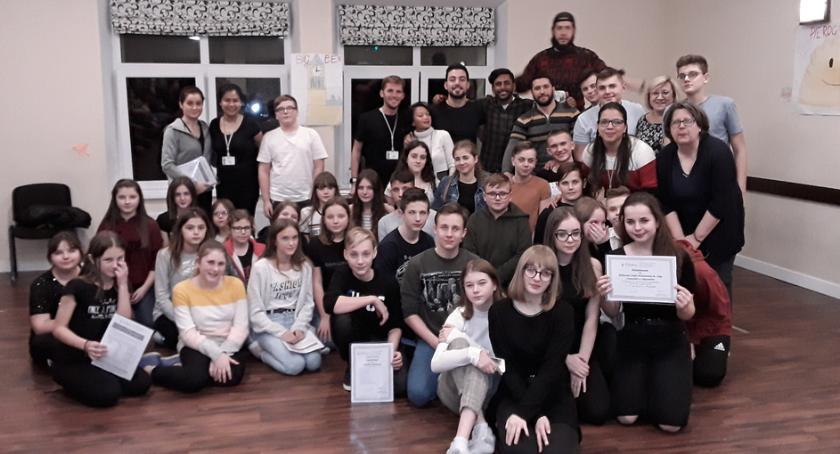 Edukacja, Uczniowie Skaryszewie uczestnikami obozu językowego - zdjęcie, fotografia