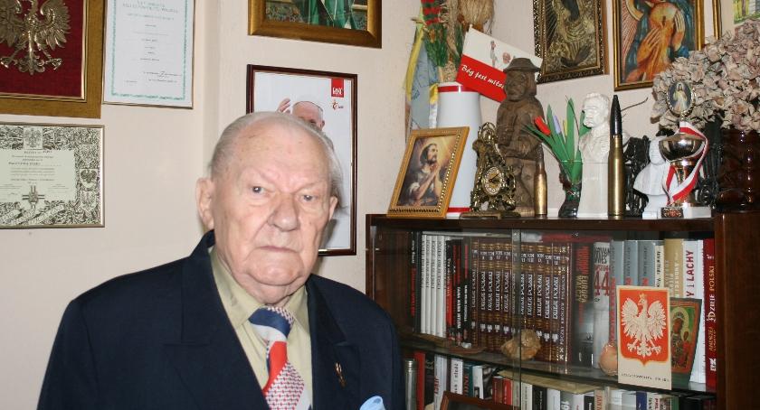 Wywiad , Partyzantka działała prężnie Wywiad Józefem Łyżwą Żołnierzem Wyklętym regionu radomskiego - zdjęcie, fotografia
