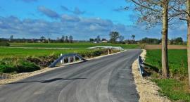 Droga w Edwardowie z nową nawierzchnią