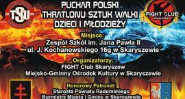 Puchar Polski Thratlonu Sztuk Walki Dzieci i Młodzieży w Skaryszewie