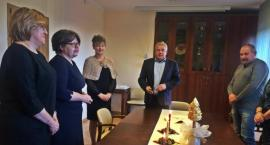 Spotkanie noworoczne dyrektorów szkół z terenu gminy