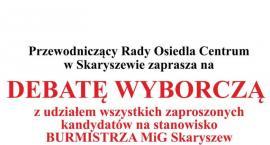 Debata wyborcza w Skaryszewie