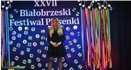 Patrycja Zawisza wyróżniona na XXVII Białobrzeskim Festiwalu Piosenki