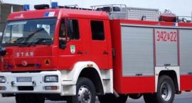 Pożar na ulicy Dzierzkowskiej w Skaryszewie