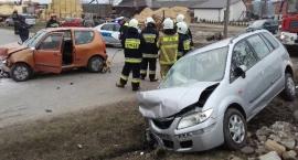 Wypadek w Gębarzowie [GALERIA]