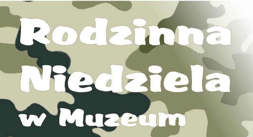 Inne Wydarzenia, broni mundurze podczas Rodzinnej Niedzieli ciechanowskim muzeum - zdjęcie, fotografia