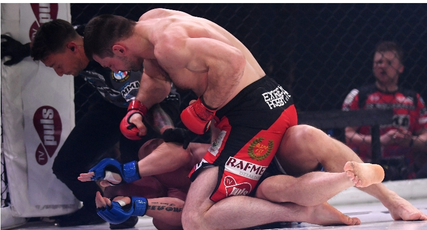 MMA, Ruszyła sprzedaż biletów galę PLMMA Ciechanowie Znamy wstępny program - zdjęcie, fotografia
