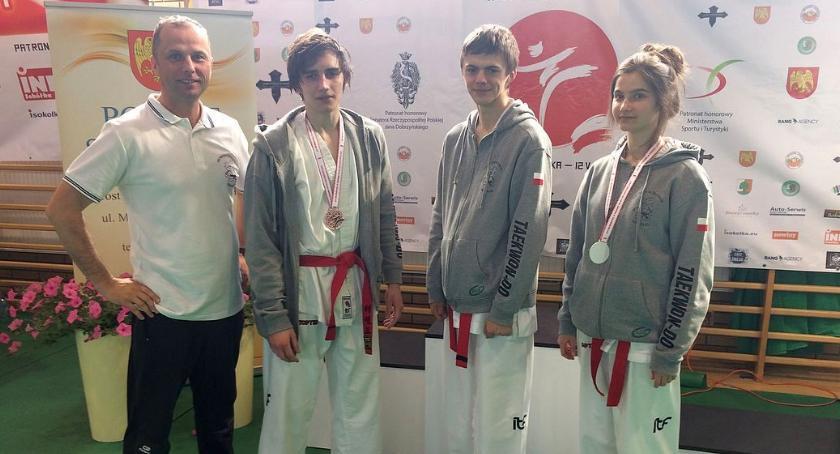 Taekwondo, Młodzi ciechanowianie medalistami Mistrzostw Polski! (zdjęcia) - zdjęcie, fotografia