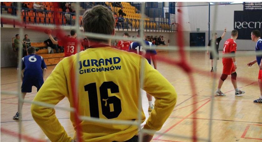 Piłka Ręczna, niedzielę ostatni Juranda - zdjęcie, fotografia
