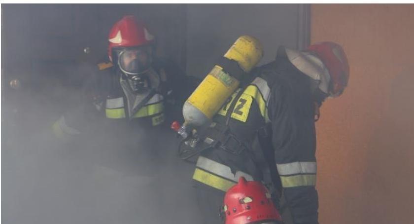 Pożary, Strażacy interweniowali drukarni Doszło pożaru - zdjęcie, fotografia
