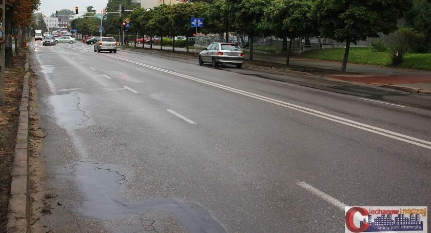 Inwestycje, Ciechanowie rusza remont kolejnej ulicy razem ścisłym centrum - zdjęcie, fotografia