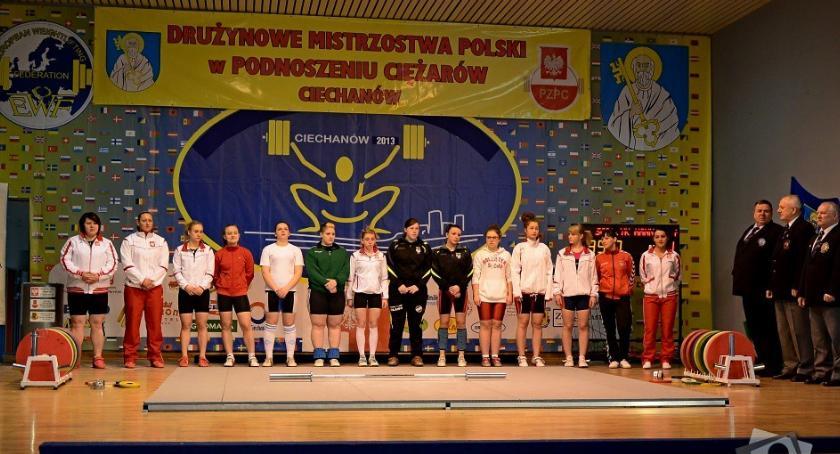 Podnoszenie Ciężarów, Ciechanów będzie gospodarzem Indywidualnego Drużynowego Pucharu Polski - zdjęcie, fotografia