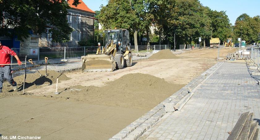 Inwestycje, Kolejny Sienkiewicza kolejne utrudnienia kierowców - zdjęcie, fotografia