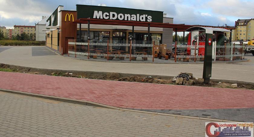 Inwestycje, McDonalds Ciechanowie prawie gotowy Otwarcie przyszłym tygodniu - zdjęcie, fotografia