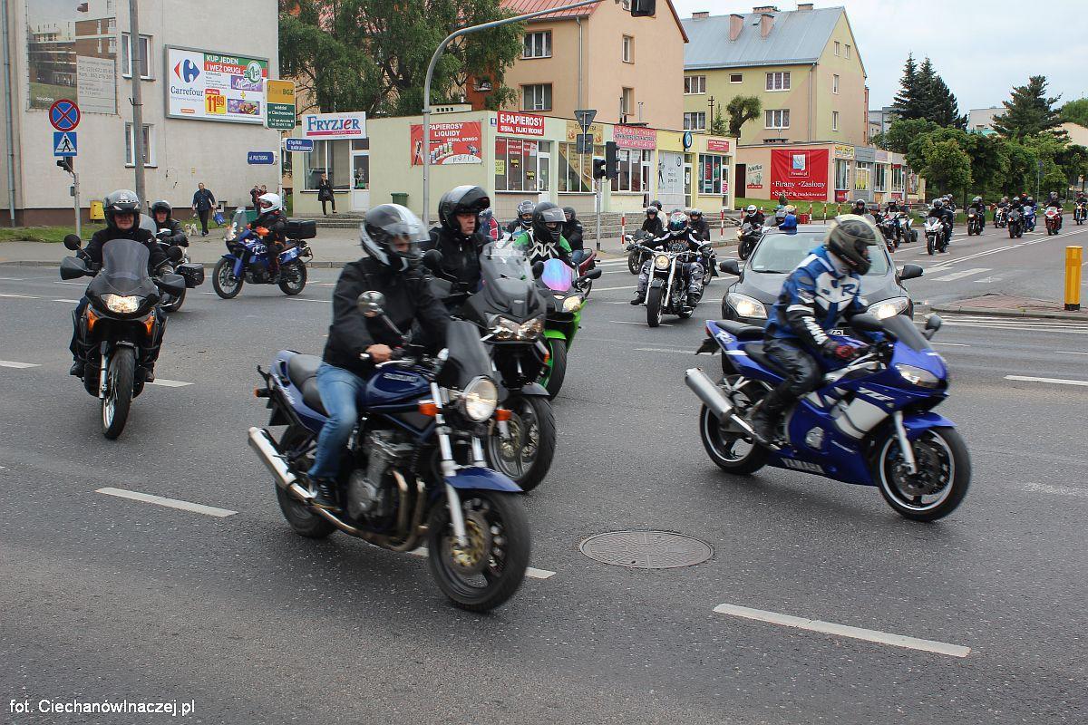 W Ciechanowie Będą Doskonalić Technikę Jazdy Na Motocyklu Ciechanów