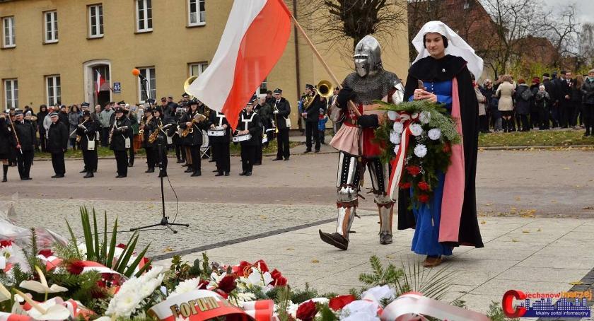 Rocznice, Ciechanów świętował rocznicę odzyskania niepodległości (fotorelacja) - zdjęcie, fotografia