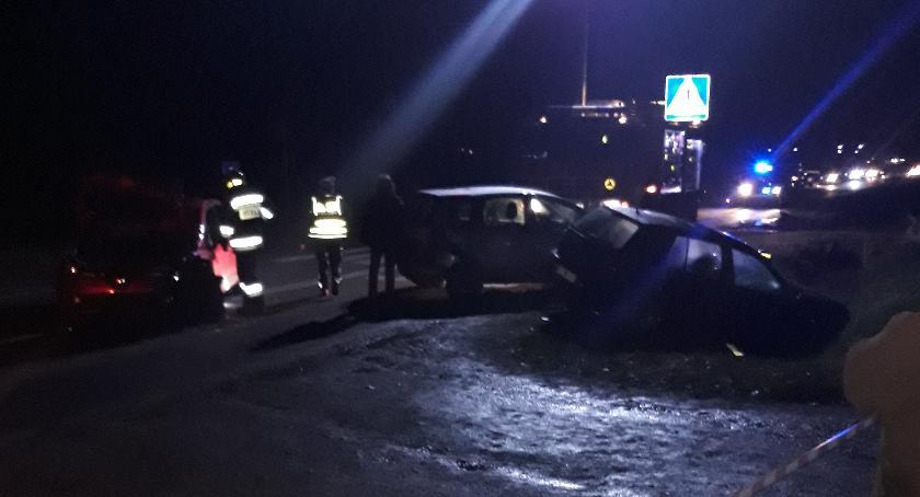 Wypadki drogowe, Wasze Poważny wypadek Chruszczewie Droga zablokowana (zdjęcia) - zdjęcie, fotografia