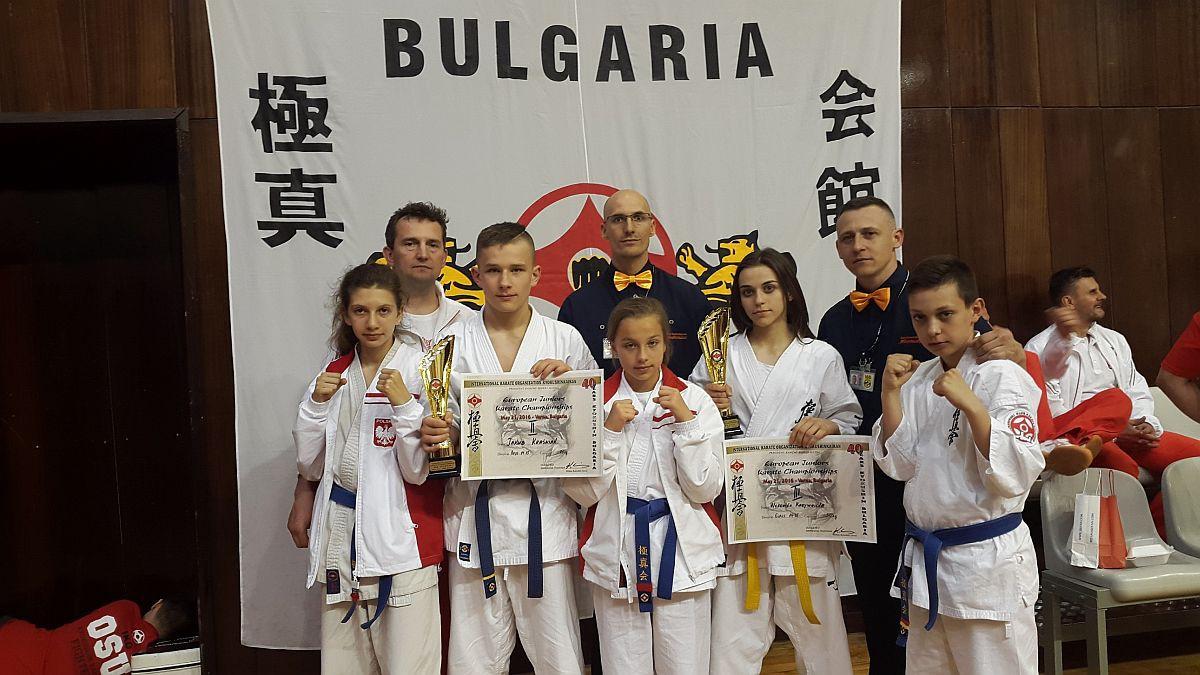 Karate, Karatecy Ciechanowa medalistami Mistrzostw Europy! - zdjęcie, fotografia