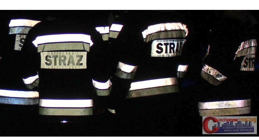 Pozostałe Interwencje, Podejrzany zapach budynku poczty Ciechanowem Interweniowali strażacy - zdjęcie, fotografia