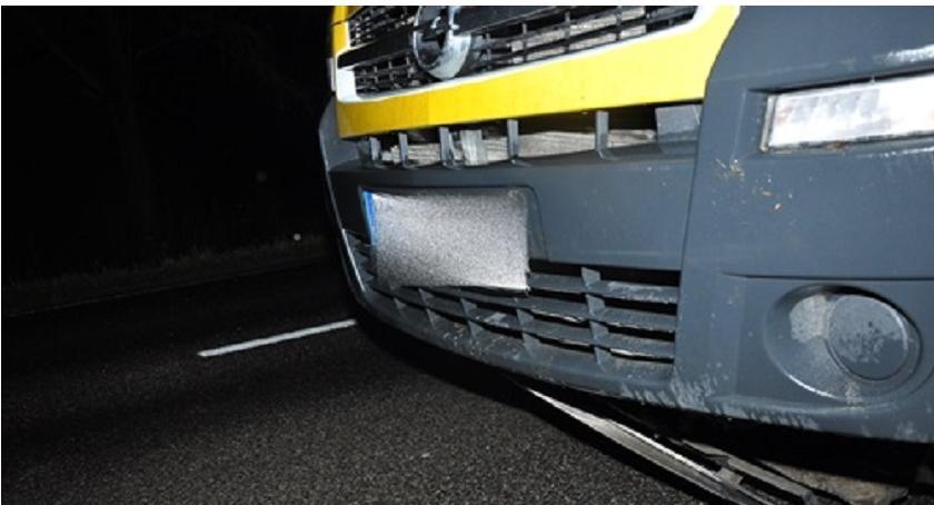 Wypadki drogowe, Tragiczny wypadek mieszkanka ciechanowskiego najechała latka - zdjęcie, fotografia