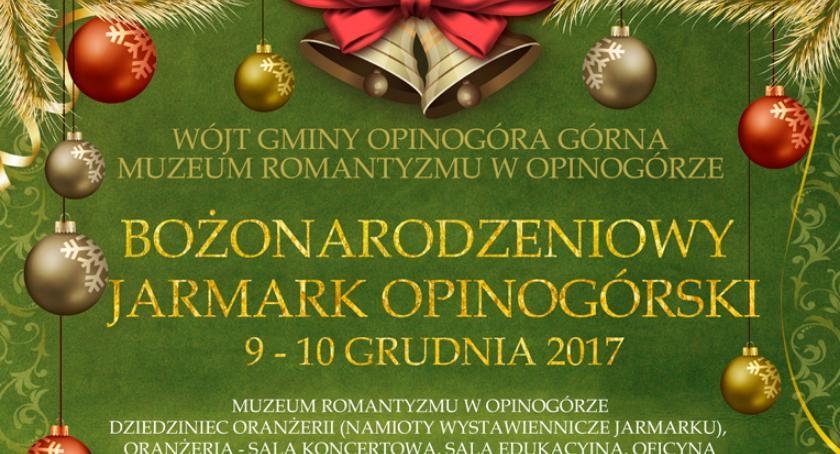 Inne Wydarzenia, Przed Bożonarodzeniowy Jarmark Opinogórski - zdjęcie, fotografia