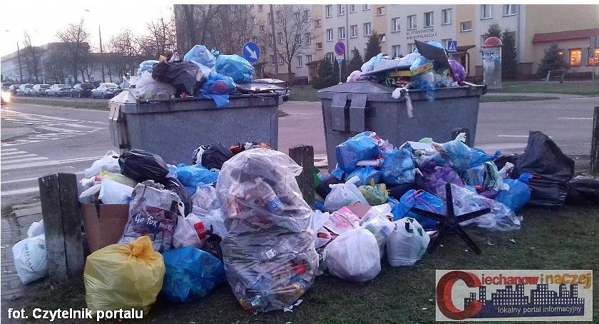 Interwencje, Wasze Zalegające śmieci osiedlu Powstańców Wielkopolskich - zdjęcie, fotografia