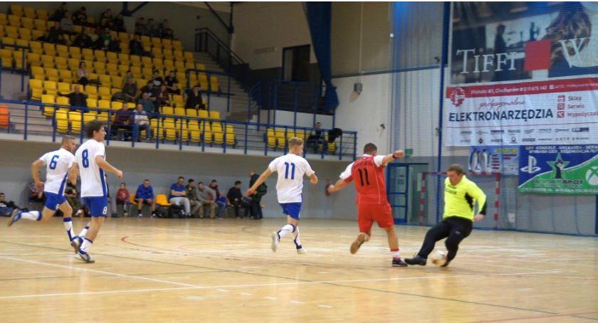 Piłka Nożna, noworocznej kolejce Zakładowej - zdjęcie, fotografia